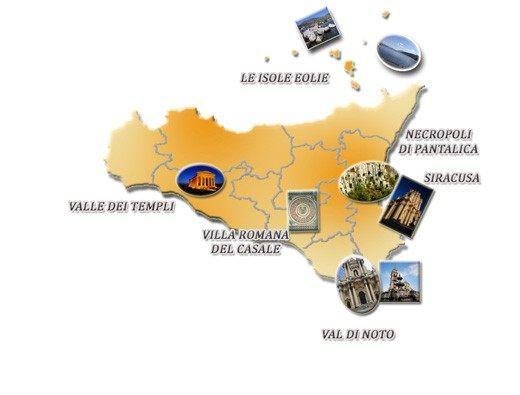 Cartina Sicilia Mondello.Vacanza In Sicilia Patrimonio Dell Umanita